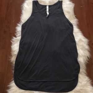 Lululemon Side Story Tank in Melanite Size 6